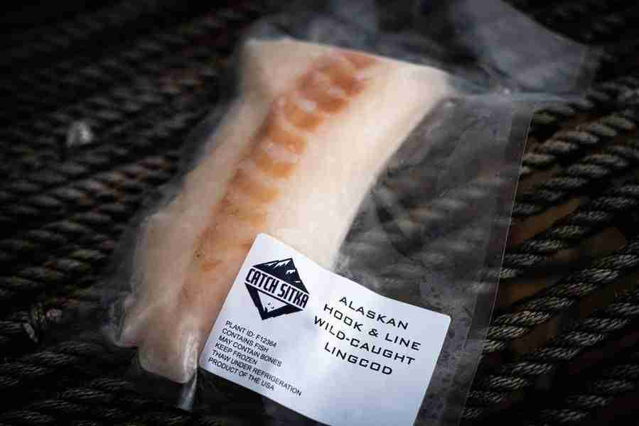 Fresh Frozen Wild Alaskan Fish Teaser – 6-8 oz portion / Lingcod