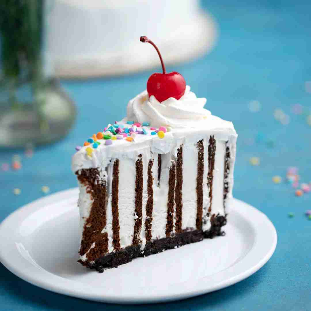 Ice Cream Sandwich Zebra Cake