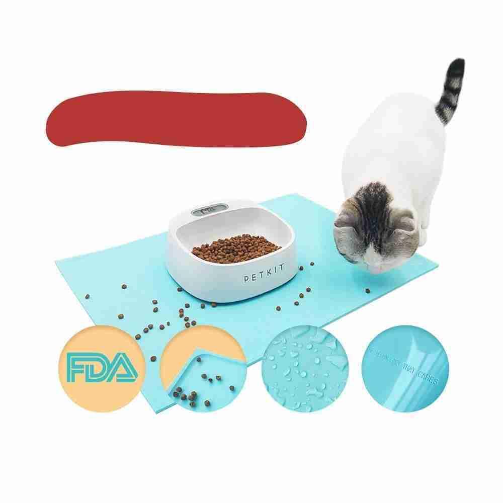 Instachew PETKIT Sili Mat Waterproof,Portable for Pet Feeding,