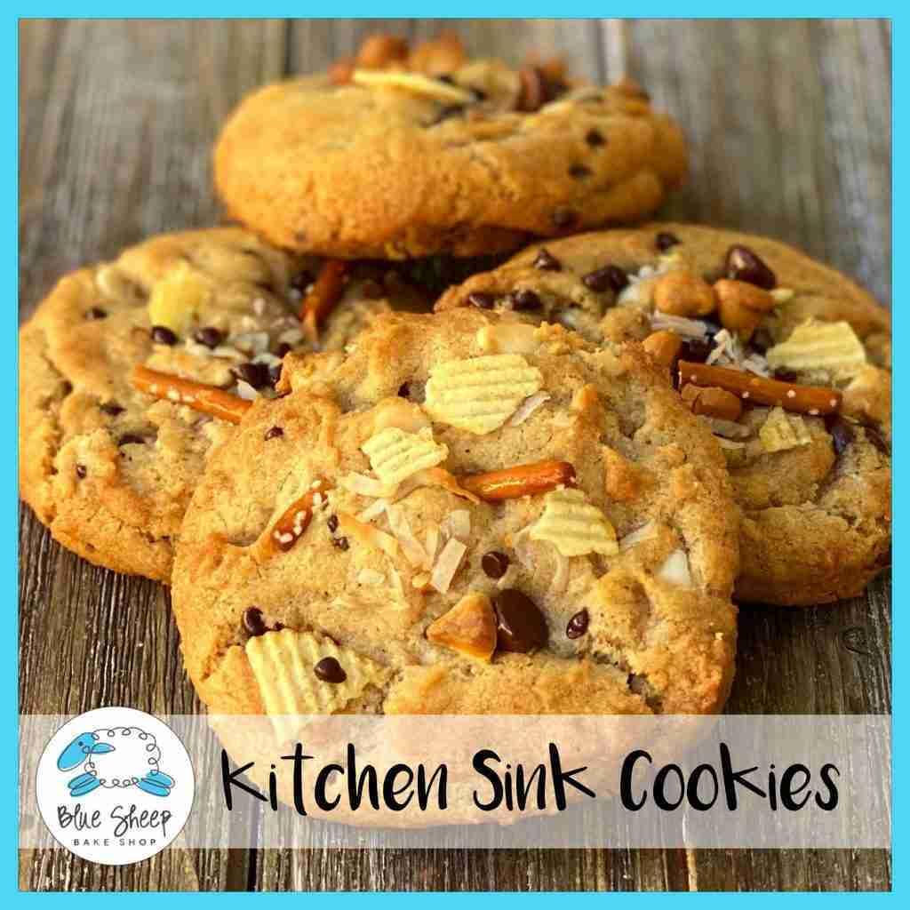 Jumbo Kitchen Sink Cookies