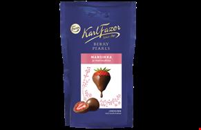 Karl Fazer Berry Pearls Strawberry 90 g