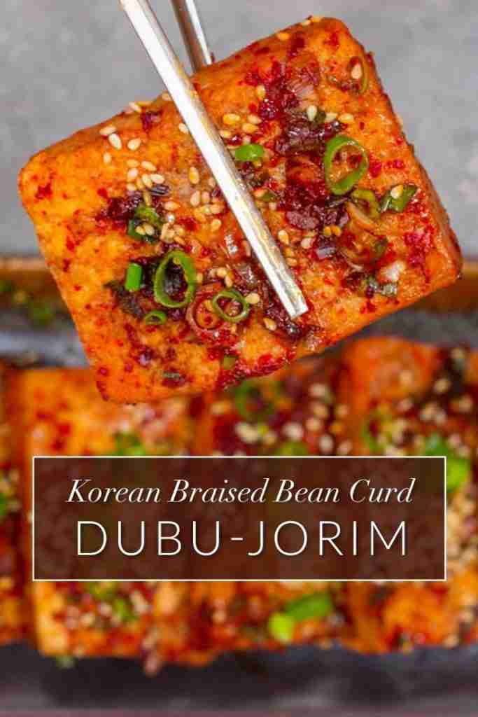 Korean Braised Tofu (Dubu Jorim) – Messy Vegan Cook