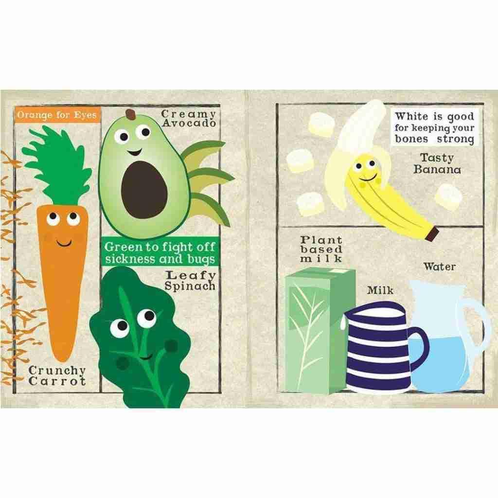 Nursery Times Crinkle Newspaper – Eat A Rainbow