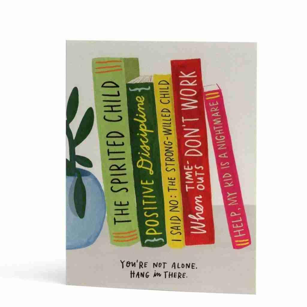 Parenting Books Empathy Greeting Card
