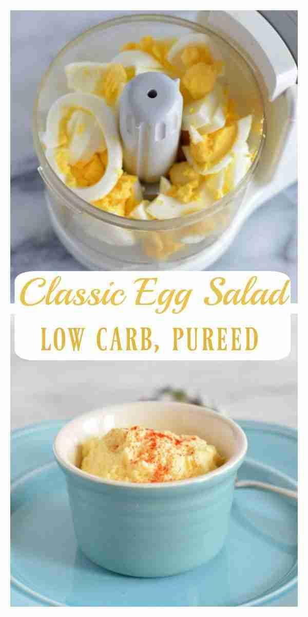 Pureed Classic Egg Salad