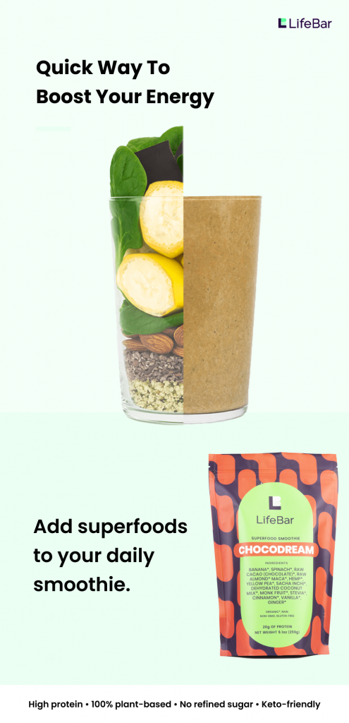 Ready-to-blend Superfood Smoothie   Chocolate