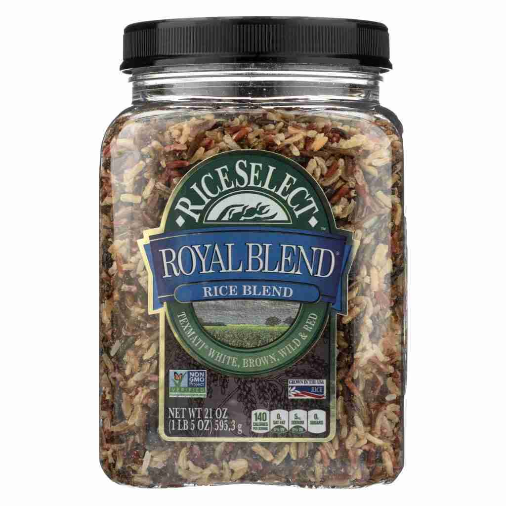 Rice Select Royal Blend – White Brown And Red – Case Of 4 – 21 Oz.