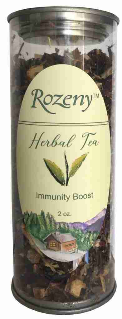 Rozeny Herbal Immunity Boost Tea – 2 oz. Container