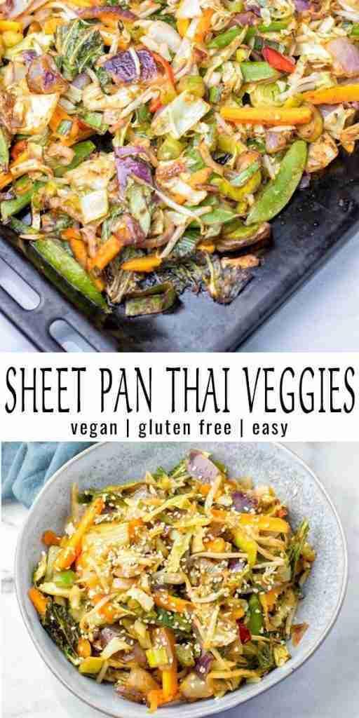 Sheet Pan Thai Vegetables – Contentedness Cooking