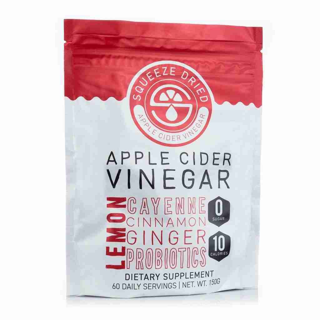 Squeeze Dried Apple Cider Vinegar with Ginger and Probiotics Bulk Powder