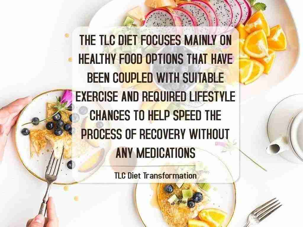 TLC Diet Transformation,Therapeutic Lifestyle Changes