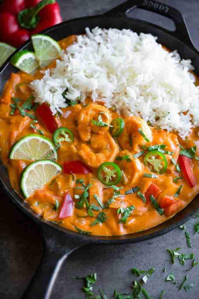 Thai Coconut Shrimp Curry Recipe – Peas and Crayons