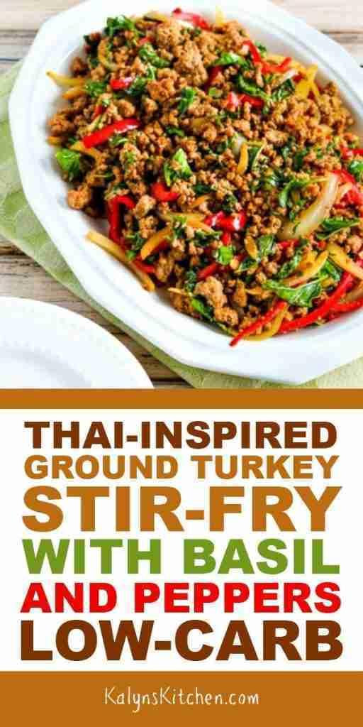 Thai-Inspired Ground Turkey Stir Fry – Kalyn's Kitchen