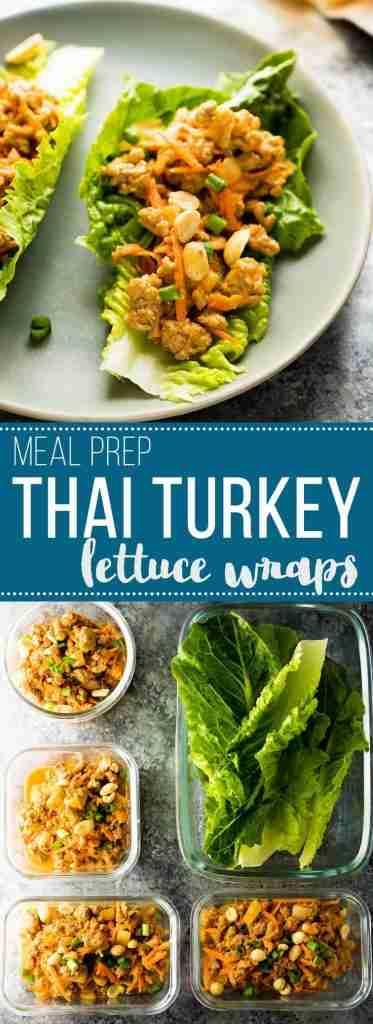 Thai Turkey Lettuce Wraps | Sweet Peas & Saffron