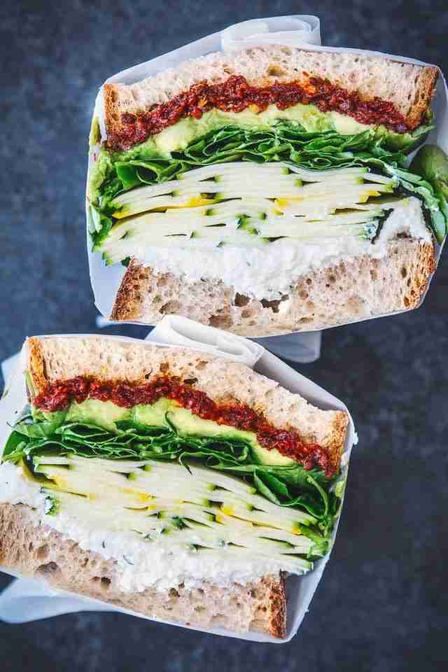 This Veggie-Packed Sandwich Is the Only Lunch Recipe You Need