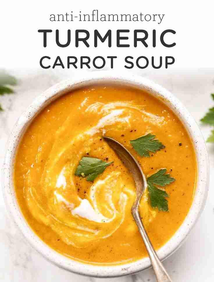 Turmeric Carrot Soup Recipe