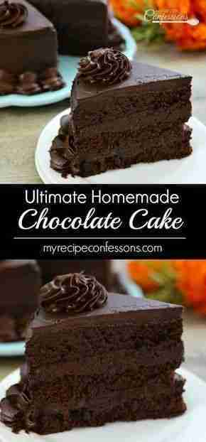 Ultimate Homemade Chocolate Cake – My Recipe Confessions