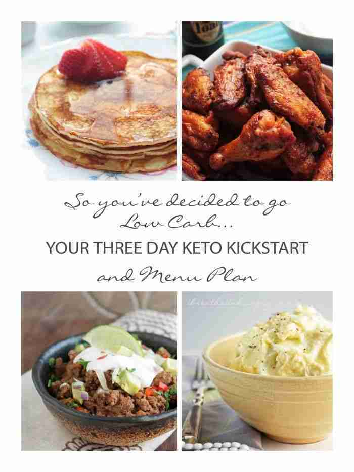 Your 3 Day Keto Kickstart and Menu Plan – I Breathe… I'm Hungry…