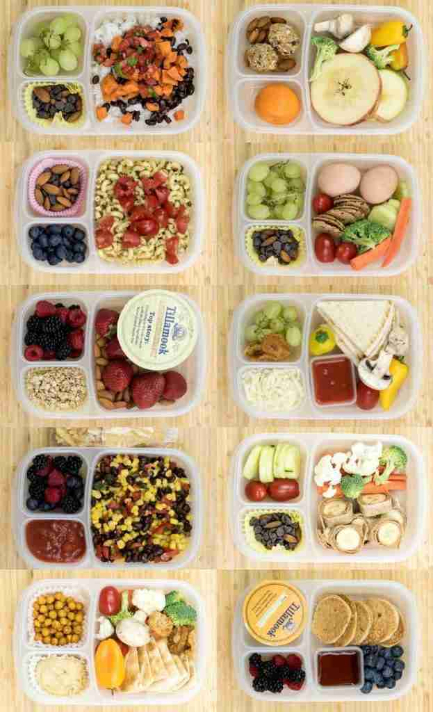 12 Healthy Lunch Box Ideas for Kids or Adults | Creative Lunches
