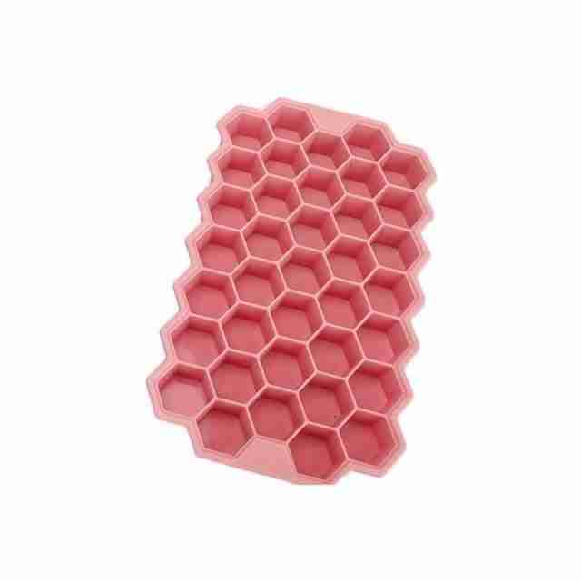 12pcs Silicone Mold Heart Cupcake Soap Silicone Cake Mold – Pink