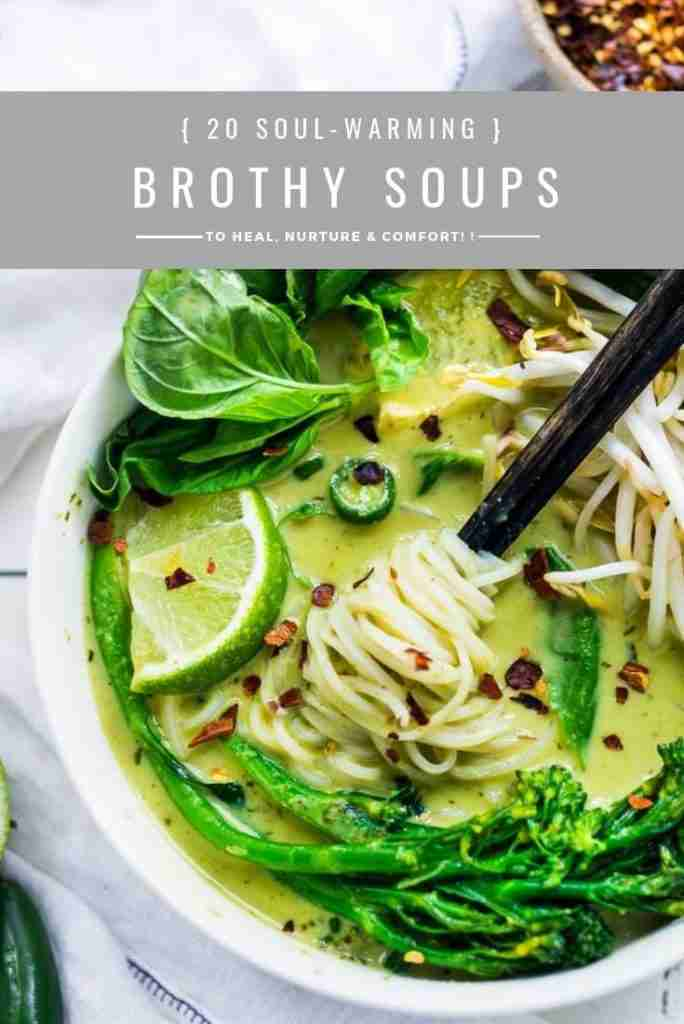 20 Best Broth-Based Soup Recipes
