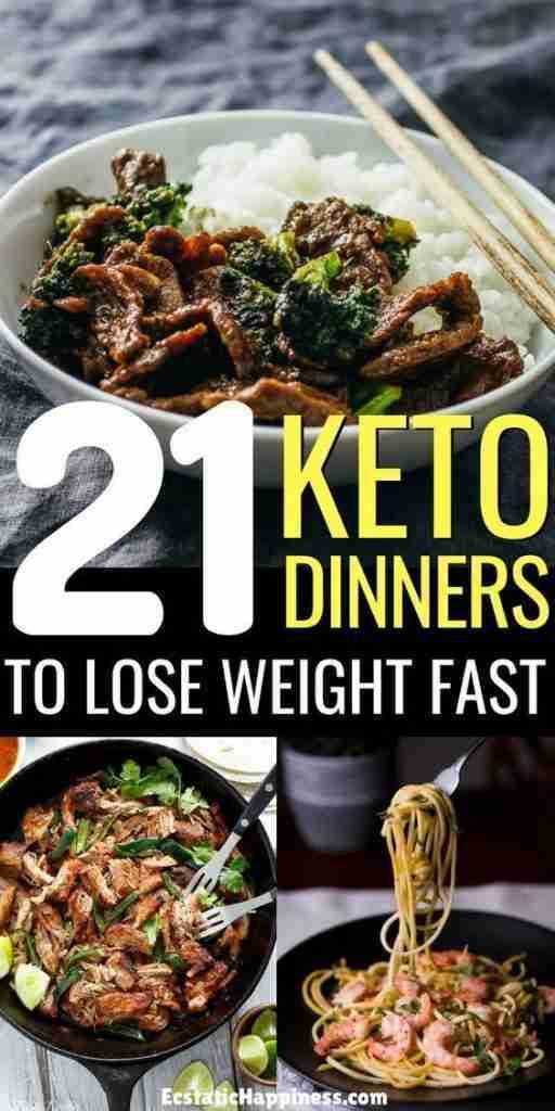 21 Easy Keto Dinner Recipes [Updated 2021]