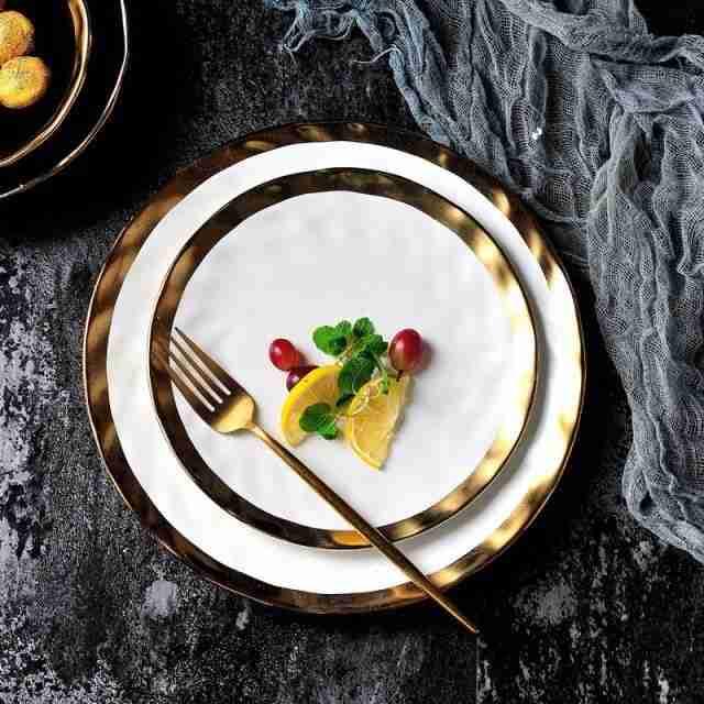 Agate Plate – White