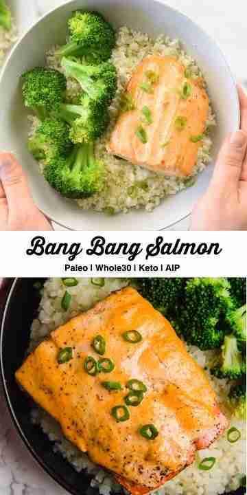 Bang Bang Salmon (Keto, Paleo, Whole30)