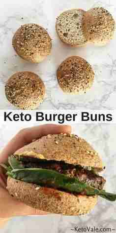 Best Low Carb Keto Bread Recipe for Buns and Rolls | Keto Vale