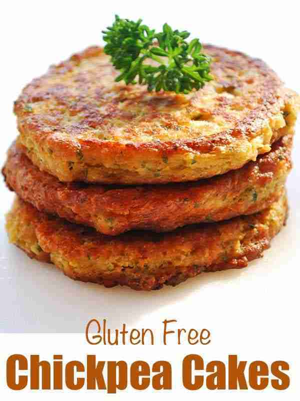 Chickpea Fritters, Golden and Crispy | Healthy Recipes Blog