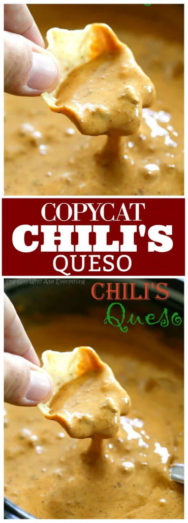 Chili's Queso Dip Recipe – The Girl Who Ate Everything