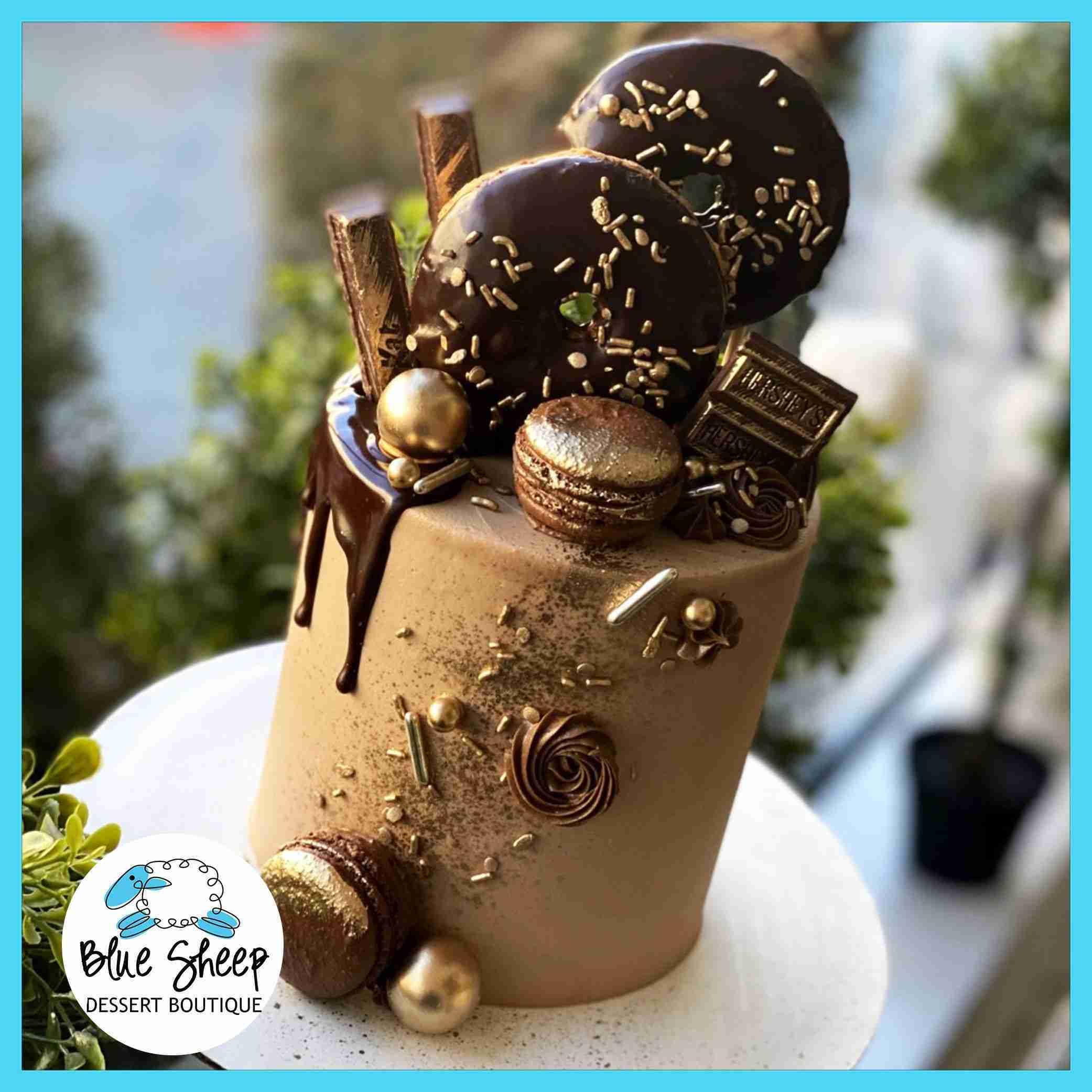 Cocoa Glam Cake