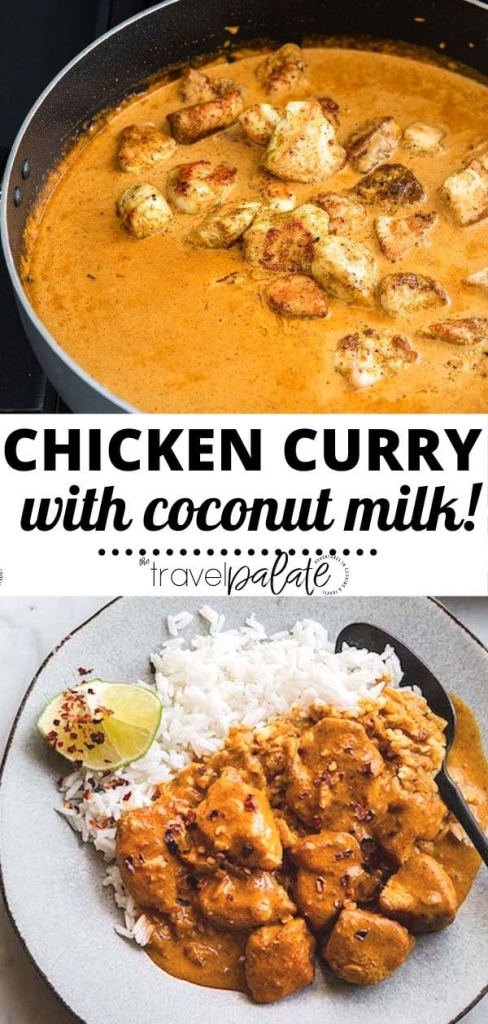 Coconut Milk Curry with Chicken