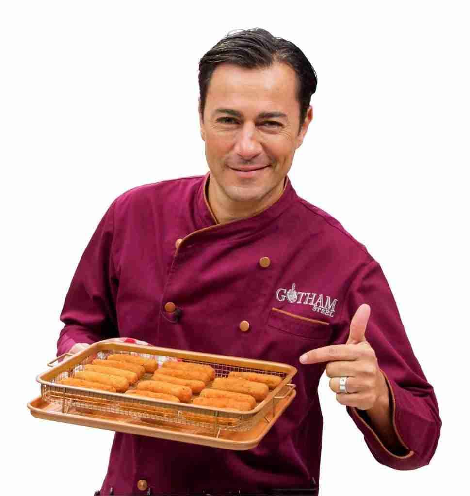 Copper Crispy Tray – Oven Air Fryer