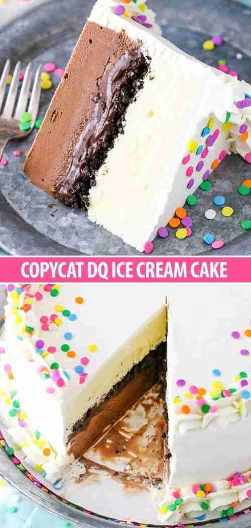 Copycat Dairy Queen Ice Cream Cake | Classic Ice Cream Cake Recipe