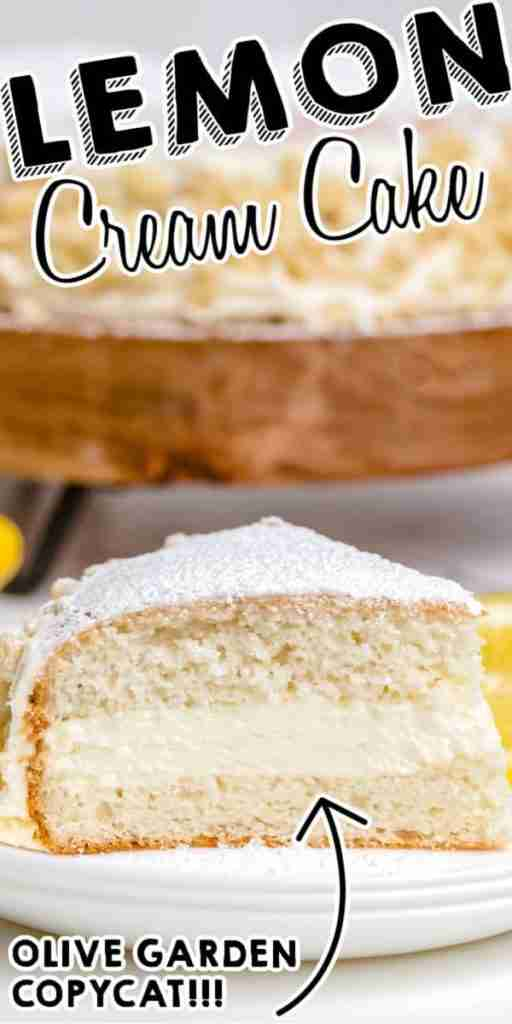 Copycat Olive Garden Lemon Cream Cake – Easy Budget Recipes