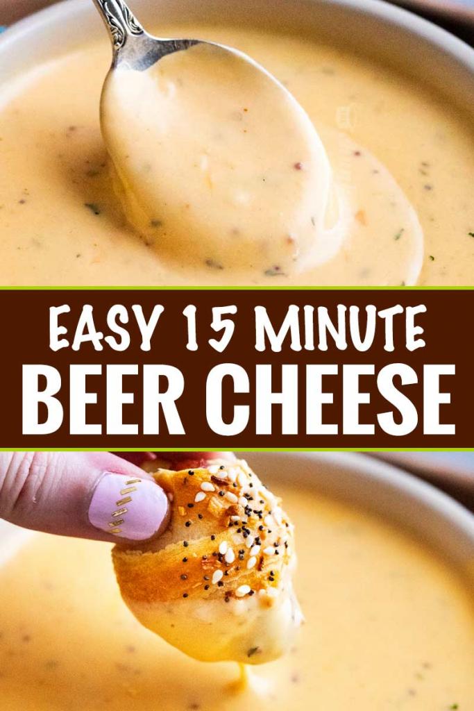 Creamy Beer Cheese Sauce
