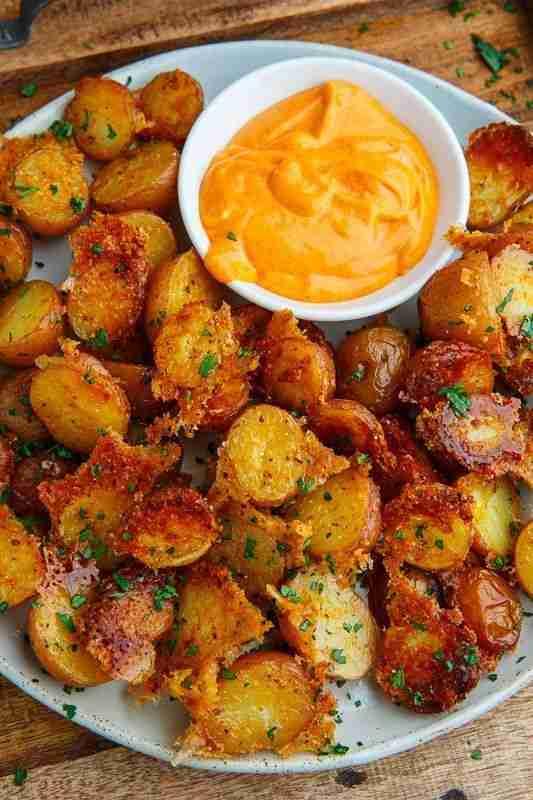 Crispy Parmesan Roast Potatoes Winter Warming and Fragrant Recipes For Karen Gil…