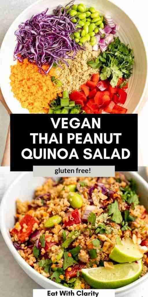 EASY Vegan Thai Quinoa Salad Recipe   Eat With Clarity