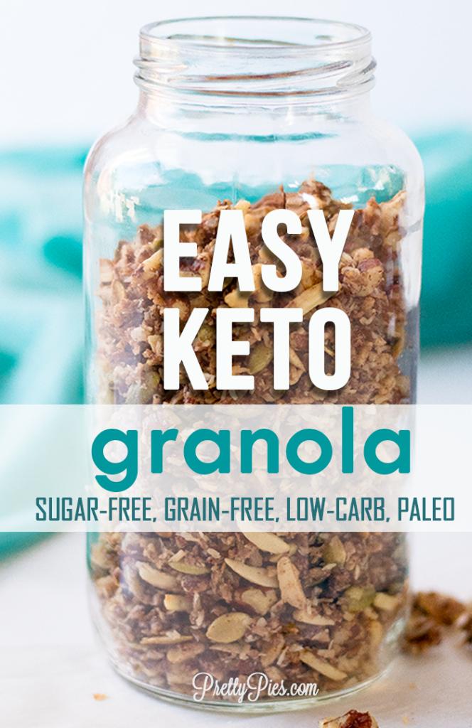 Easy Keto Granola