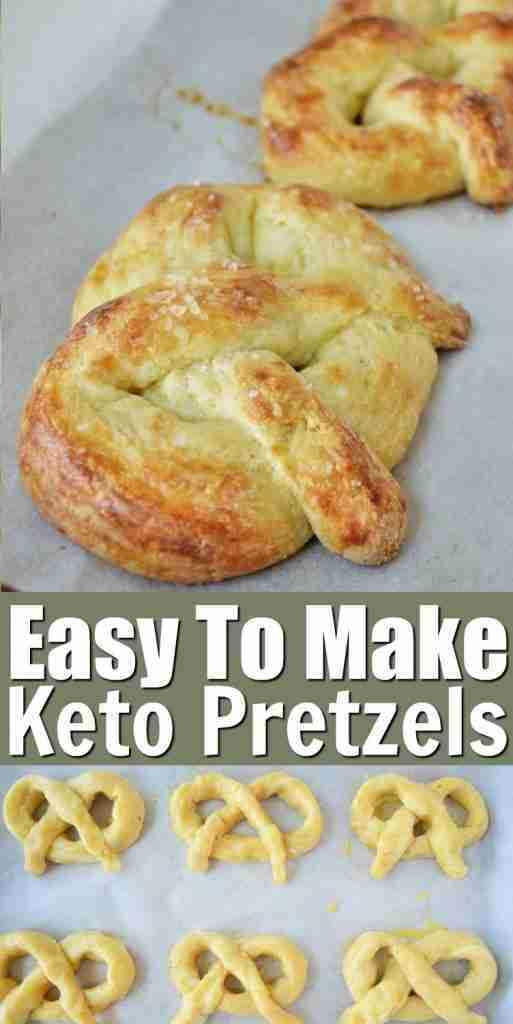 Easy To Make Keto Pretzels