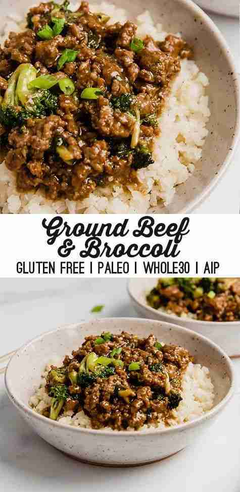 Ground Beef & Broccoli (Paleo, Whole30, AIP)