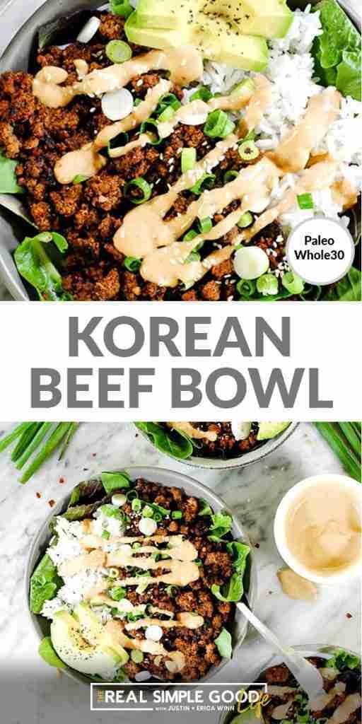 Healthy 20-Minute Korean Beef Bowl