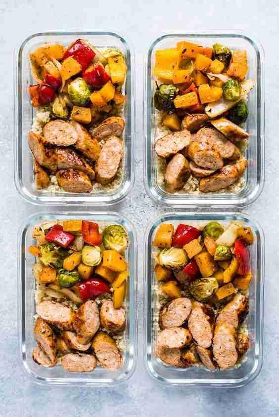 Healthy Sheet Pan Sausage and Veggies – Isabel Eats {Easy Recipes}