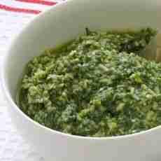Home-made Pesto Sauce