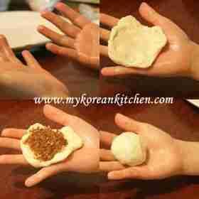 Hotteok (Korean Sweet Pancakes)