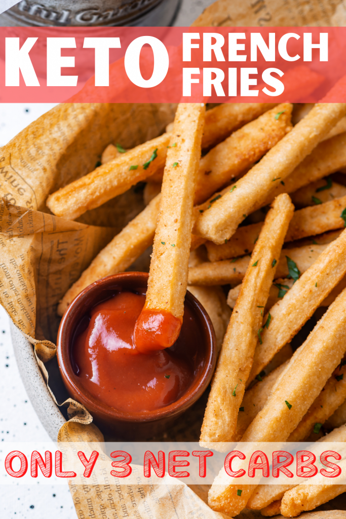 KETO French Fries | The Best Low Carb French Fries