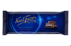 Karl Fazer Milk chocolate 100 g – 2 pcs