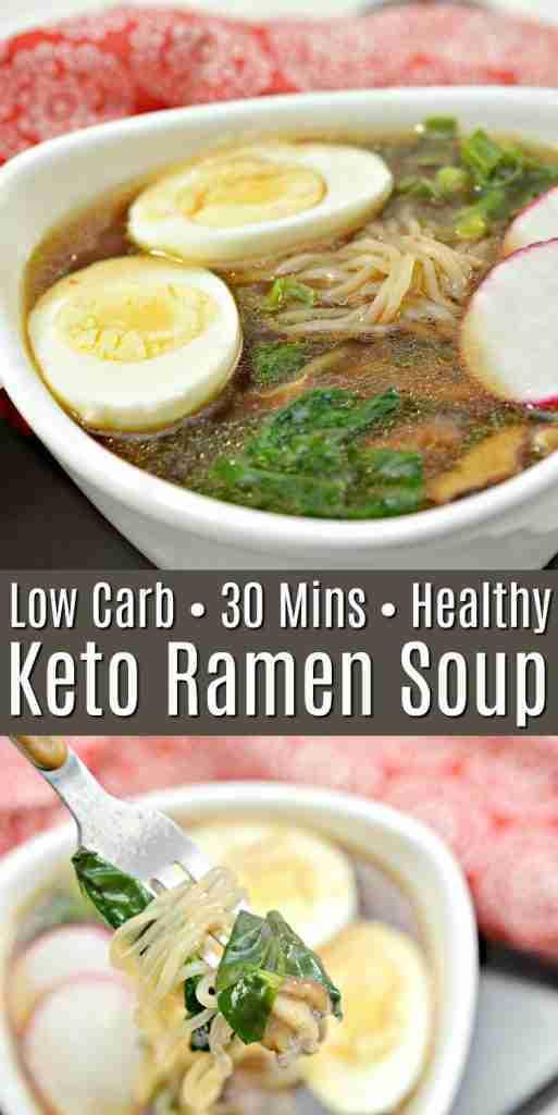Keto Ramen Soup