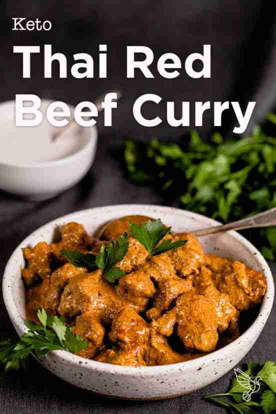Keto Thai Red Beef Curry recipe – Paleo, Whole30, dairy-free, wicked easy